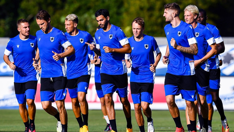 Sampdoria, Ranieri sorride e riabbraccia i nazionali