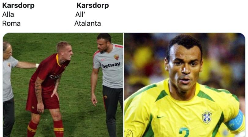 Karsdorp all'Atalanta, le reazioni social dei tifosi della Roma