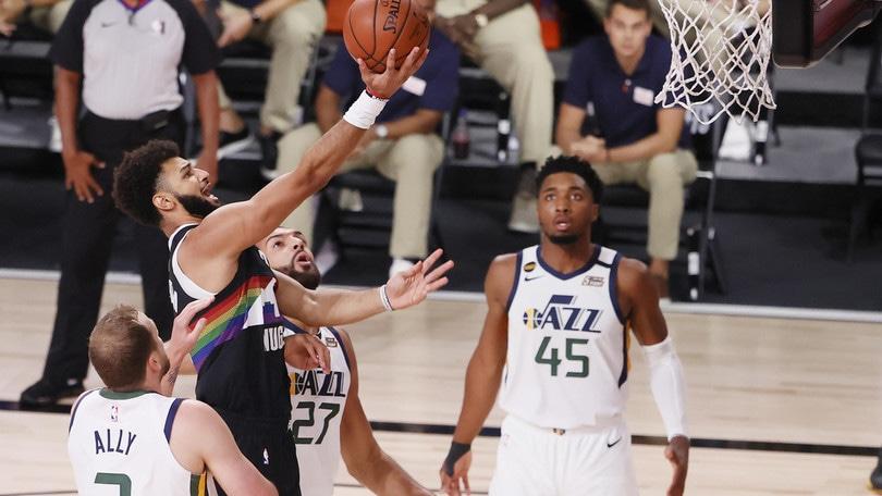 NBA, Denver elimina Utah. Boston batte Toronto e va sul 2-0