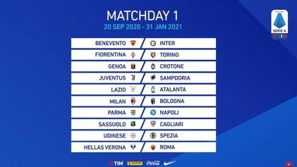Calendario Serie A 2020 2021 Inter Juve E Lazio Roma Al 18 Turno Corriere Dello Sport