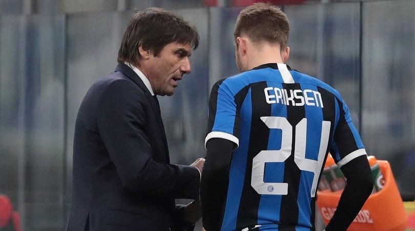 """Eriksen, dubbio Inter: """"Abituato ad essere titolare, ora..."""""""