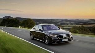 Nuova Mercedes Classe S: gli scatti