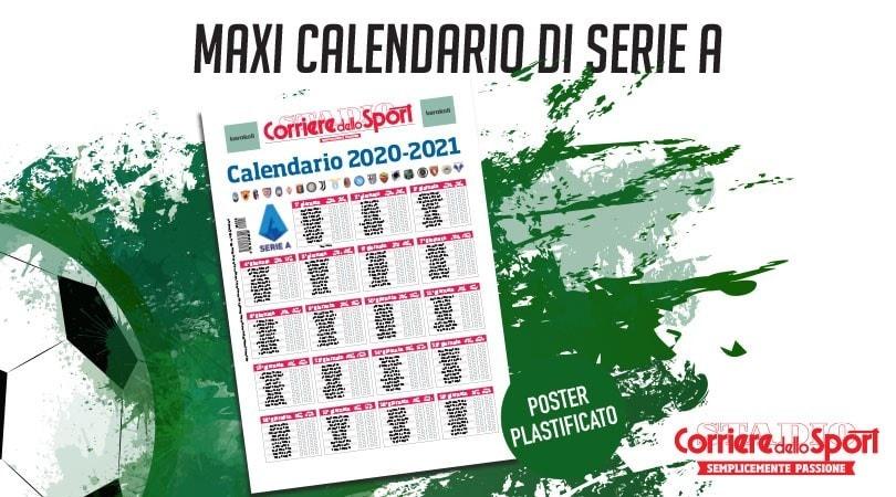Sabato Con Il Corriere Dello Sport Stadio Il Calendario Plastificato Della Serie A