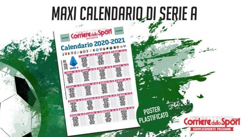 Sabato Con Il Corriere Dello Sport Stadio Il Calendario Plastificato Della Serie A Corriere Dello Sport