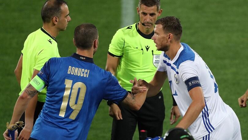 """Bonucci: """"A Dzeko non manca nulla, è di livello mondiale"""