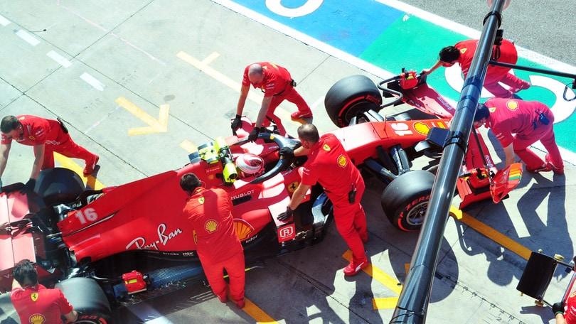 GP Italia, Leclerc: