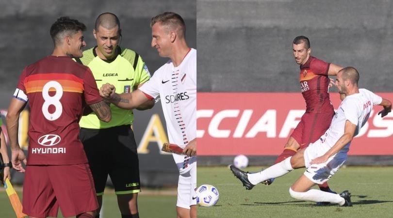 Roma, buona la prima con Perotti capitano: 4-2 alla Sambenedettese