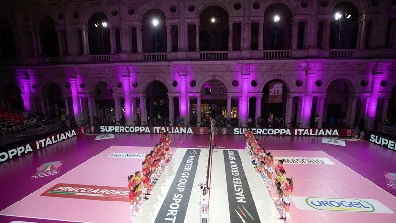 Supercoppa: interrotta Busto-Novara, impossibile giocare per l'umidità
