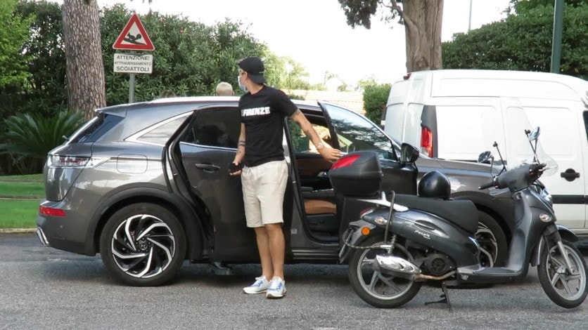 Roma, Zaniolo a Villa Stuart per gli esami al ginocchio