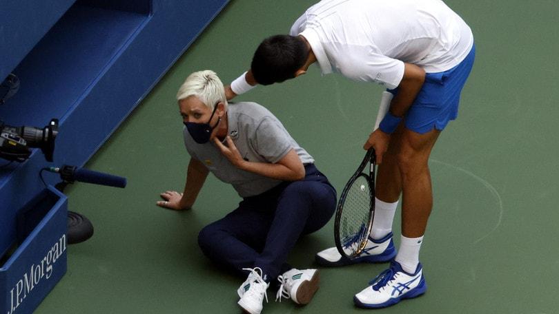 Minacce di morte alla giudice di linea colpita da Djokovic