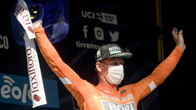 Tirreno-Adriatico, Ackermann vince anche la seconda tappa