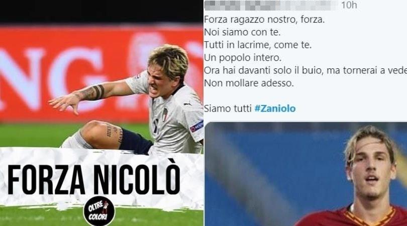 """Zaniolo, gli auguri dai social: """"Forza Nicolò"""""""