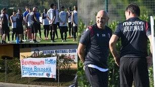 """Mihajlovic di nuovo in campo, i tifosi del Bologna: """"Bentornato mister"""""""