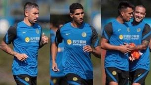 L'Inter di Conte abbraccia Kolarov e Hakimi
