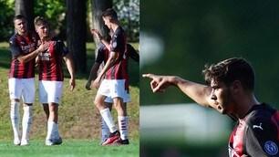 Il Milan batte 5-1 il Vicenza: Brahim Diaz in gol, doppietta di Castillejo