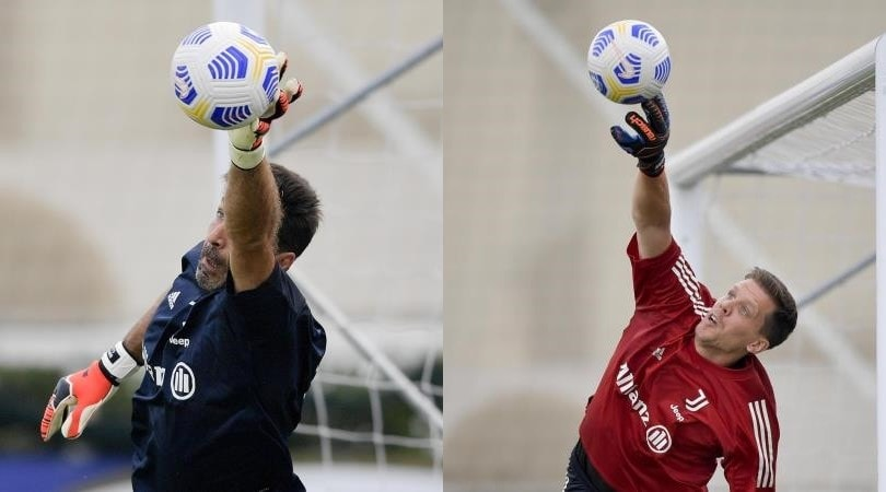 Juve, super lavoro per Buffon e Szczesny agli ordini di Pirlo