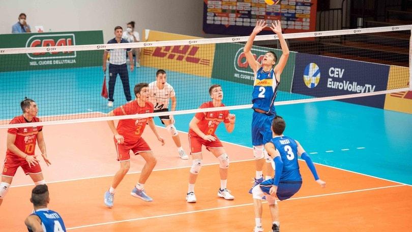 Europei U.18: azzurri ko con la Bulgaria