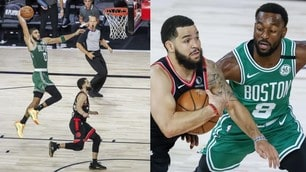 Nba, Celtics-Raptors è uno show! Il parziale ora è 3-3