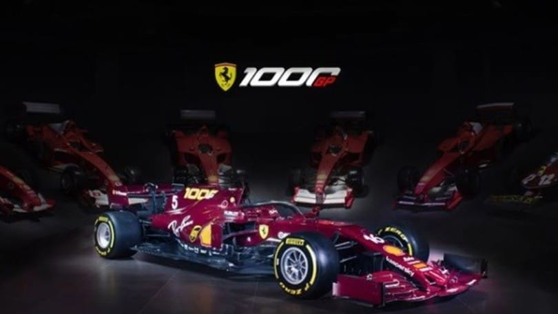 F1 Ferrari, livrea unica in occasione del GP di Toscana