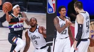 Nba, Clippers a un passo dalla finale: 3-1 sui Nuggets