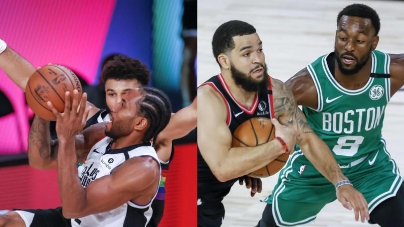 Nba, Toronto e Boston show: si va a gara 7. I Clippers vedono la finale