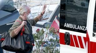 De Laurentiis lascia Capri: va a curarsi a Roma