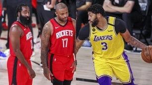 Nba, i Lakers vanno sul 3-1 contro i Rockets