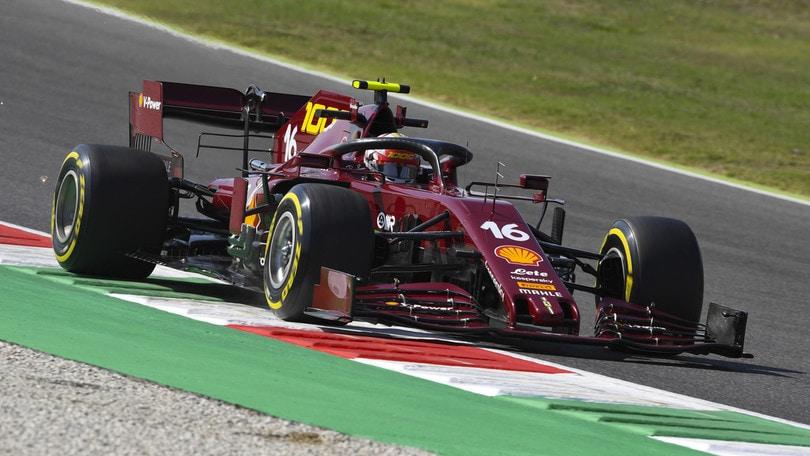 GP Toscana: Bottas guida le prime libere, Leclerc terzo