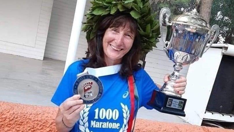Angela Gargano, un mito al traguardo di 1000 maratone. E oggi fa 1001…