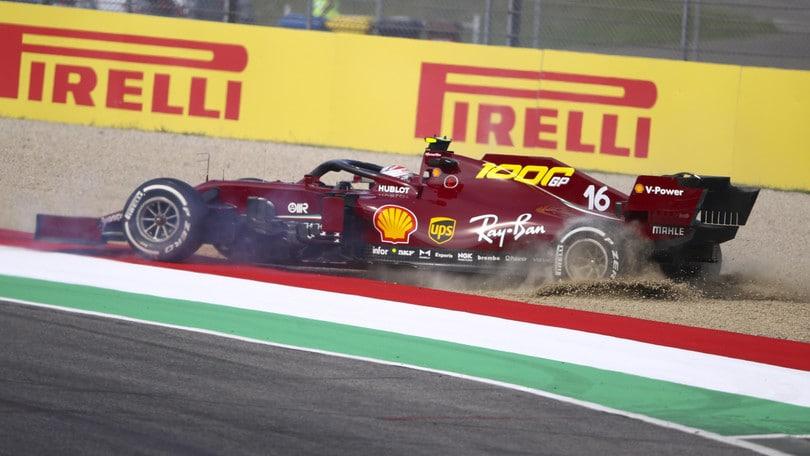 GP Toscana: dominio Mercedes nelle seconde libere, Leclerc termina decimo