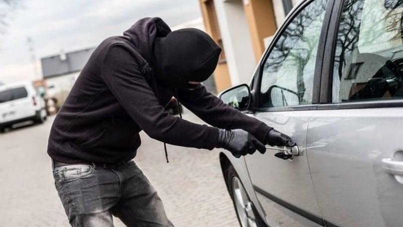 Furti d'auto, i ladri preferiscono quelle a noleggio