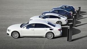 Ibride plug-in Audi TFSI e: le immagini