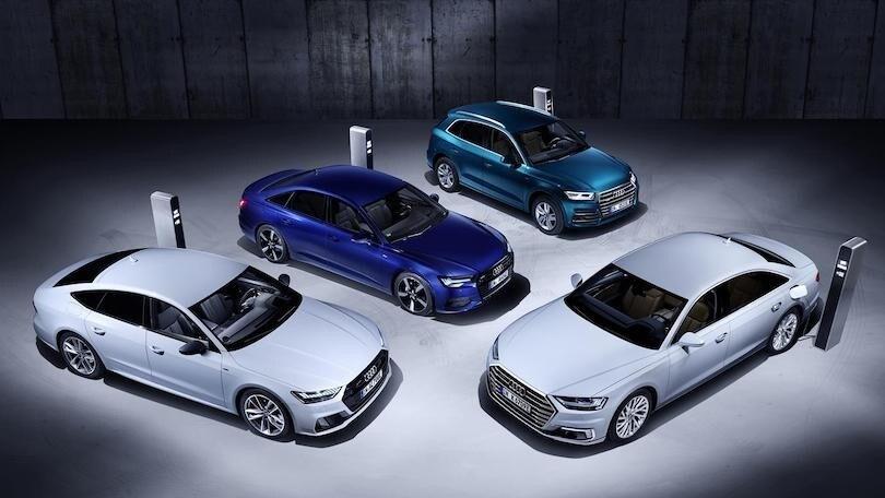 Audi, la proposta ibrida plug-in tutta in una sigla: TFSI e