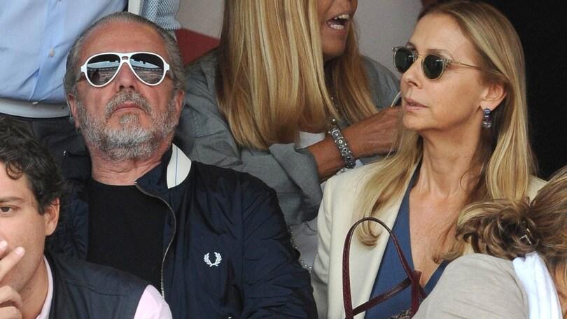 De Laurentiis e il problema con la tv a casa per vedere Napoli-Pescara