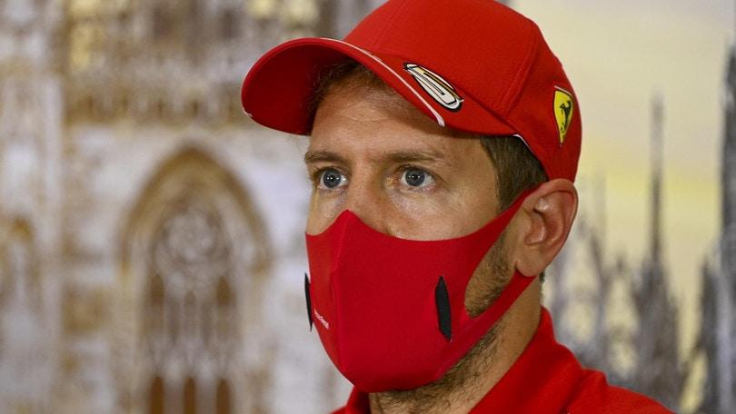 """Ferrari, Vettel: """"Possiamo migliorare in vista delle qualifiche"""""""