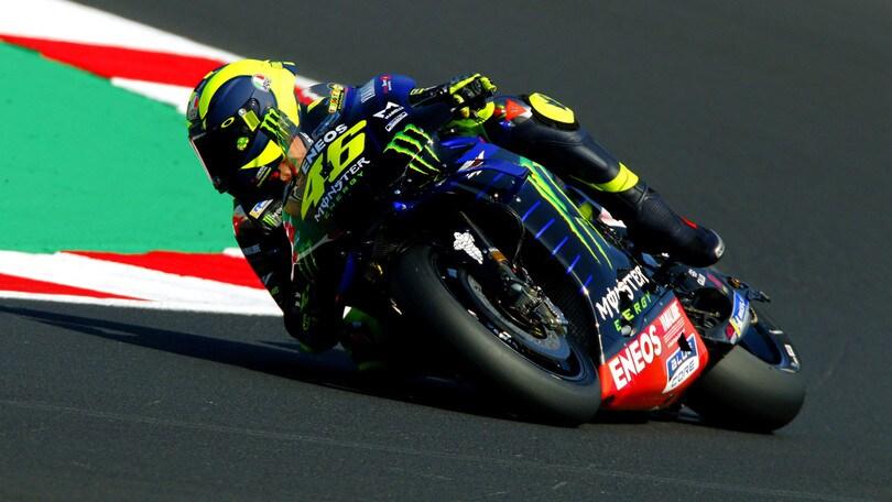 Gp San Marino: Vinales in pole davanti a Morbidelli, Valentino Rossi 4°