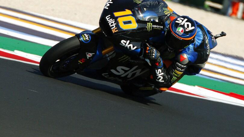 Gp San Marino, Moto2: Lowes davanti a tutti ma penalizzato, pole a Gardner