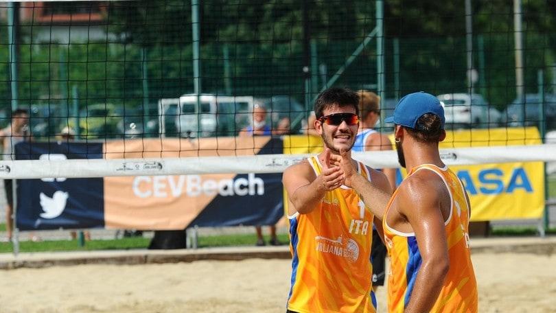 A Vilnius le coppie azzurre in semifinale