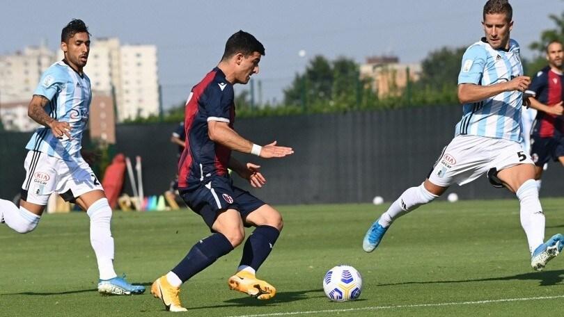 Il Bologna sbatte sull'Entella: termina 0-0