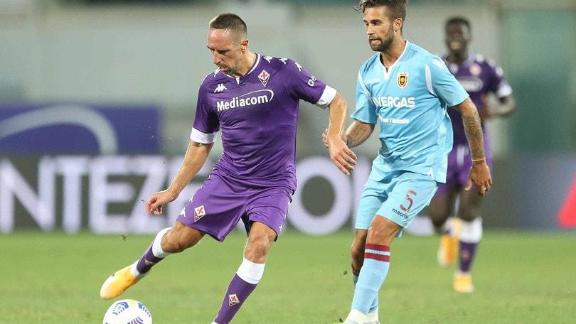 Ribery show: la Fiorentina ne fa 5 alla Reggiana