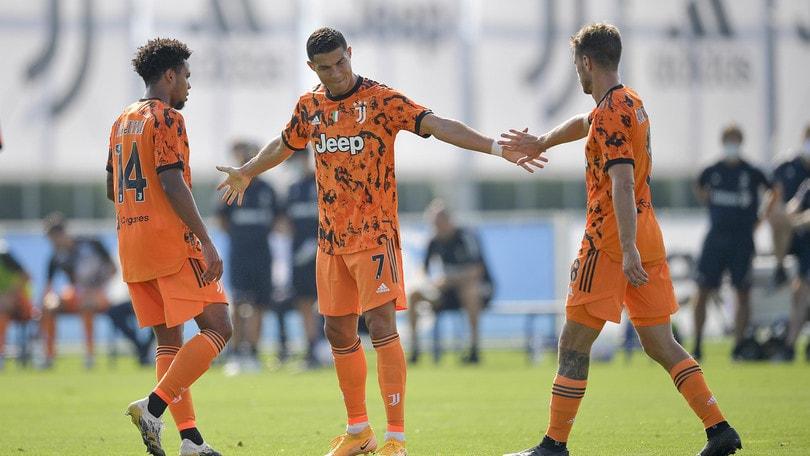 Juve, manita al Novara: Ronaldo in gol su assist di Kulusevski