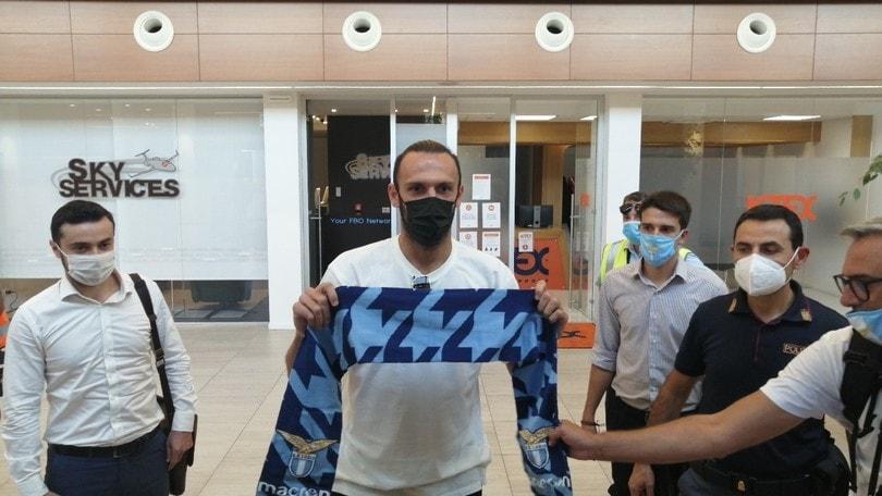 Lazio, Muriqi è arrivato: