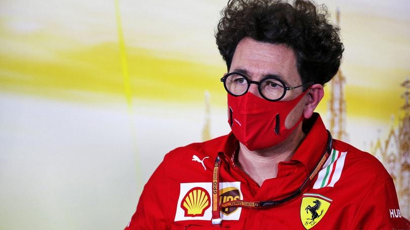 """Ferrari, Binotto: """"Siamo delusi, difficoltà profonda del nostro progetto"""""""