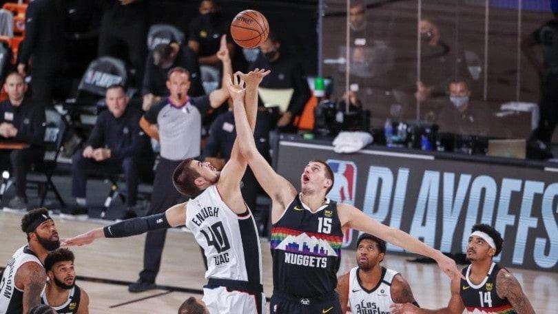 Nba, i Nuggets fermano i Clippers: si va a gara-7