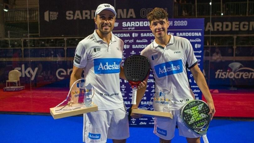 WPT Sardegna Open 2020: emozioni e talento nelle vittorie delle coppie Tapia-Belasteguin e Triay-Sainz