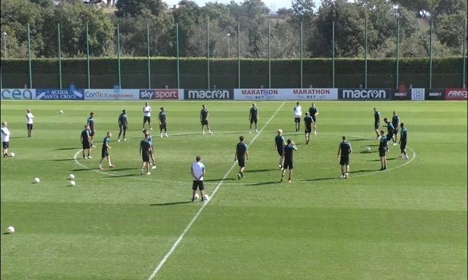 Lazio, Luiz Felipe out 15 giorni per un infortunio