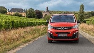 Opel Zafira-e Life, il primo test della monovolume elettrica: le immagini