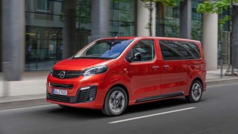 Opel Zafira-e Life, il primo test della monovolume elettrica