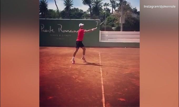 """Internazionali d'Italia, Djokovic: """"Ci vediamo presto Roma"""""""