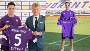 La Fiorentina presenta Bonaventura al Franchi